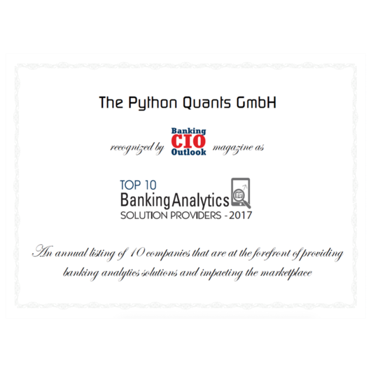 The Python Quants Group